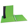 Comfort Touch Durable View Binder with Slant D Rings, 1-1/2&quot; Capacity, Green