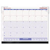 AT-A-GLANCE Look Forward Recycled Desk Pad, 22 x 17, 2014
