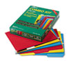 Combo Hanging File Folders, 1/3 Tab, Letter, Assorted Colors, 12 Sets/Box