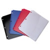 ACCO Snapper Twin Pocket Poly Folder, 8-1/2 x 11, Assorted Colors