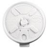 Dart Lift N' Lock Plastic Hot Cup Lids, Fits 10oz Cups, White, 1000/Carton