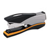 Optima Desk Stapler, 40-Sheet Capacity, Silver/Orange/Black