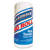Paper Towels Rolls, Perforated, White, 11x8 1/2, 2-Ply, 250/Roll, 12 Rolls/Ctn