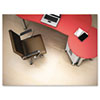 Polycarbonate Chair Mat, 45w x 53l, Clear