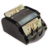 "Electric Bill Counter, 1000 Bills/Min., 1063/100Wx9 45/100Dx6 1/10"", Black/Gray"