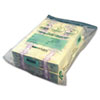 Twin Deposit Cash Bags, 9-1/2 x 15, Clear, 100/Pack