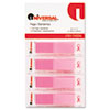 Pop-Up Page Flags, 1/2 x 1-7/10, Pink, 140 per Pack