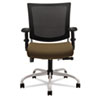 Global Graphic Series Medium Posture Mesh Back Chair, Tungsten Frame/Base, Barley