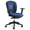 Safco Rae Series Synchro-Tilt Task Chair, Blue