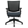 Global Graphic Series Medium Posture Mesh Back Chair, Black Base/Frame, Graphite Seat