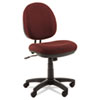Alera Interval Swivel/Tilt Task Chair, 100% Acrylic W/ Tone-On-Tone Pattern, Burgundy