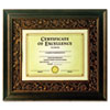 Tuscan Bronze Document Frame, Bronze, Plastic, 8.5 x 11