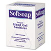 Softsoap Fragrance-Free Instant Hand Gel Sanitizer Refill, 800mL Bag, Clear