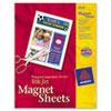 Avery Magnet Sheets, 8-1/2 x 11, White, 5/Pack