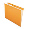Pendaflex Reinforced Hanging Folders, 1/5 Tab, Letter, Orange, 25/Box