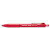 Paper Mate InkJoy 300RT Ballpoint Pen, 1.0 mm, Red Ink, Dozen