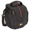 High Zoom Camera Case, Polyester, 7 1/2 x 4 3/4 x 7, Black