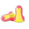 Leight Sleepers Earplugs, Cordless, Foam, Pink/Yellow, 60 Pairs/Box