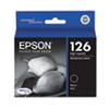 Epson T126120 (126) High-Yield Ink, Black