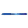EnerGel X Retractable Roller Gel Pen, Blue Ink, Fine, Dozen