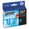 Epson T127220 (127) DURABrite Ultra Extra High-Yield Ink, Cyan