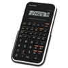 Sharp EL-501XBWH Scientific Calculator, 10-Digit LCD