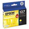 Epson T127420 (127) DURABrite Ultra Extra High-Yield Ink, Yellow
