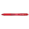 EnerGel X Retractable Roller Gel Pen, Red Ink, Fine, Dozen