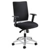 Safco Tez Series Manager Synchro-Tilt Task Chair, Mesh Back/Fabric Seat, Black