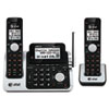 AT&T CL83201 DECT6 Expandable Cordless Phone/Ans System, 2 Handsets