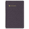 AT-A-GLANCE Recycled Weekly Appointment Book, Black, 4 7/8