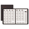 800 Range Recycled Monthly Planner, 9 x 11, Black, 2012-2014