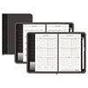 Executive Recycled Weekly/Monthly Planner, 4-5/8 x 8, Black, 2013