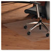 ClearTex Ultimat Anti-Slip Chair Mat for Hard Floors, 47 x 35, Clear