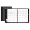 AT-A-GLANCE Executive Recycled Monthly Planner, Black, 6 7/8