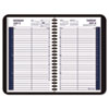 AT-A-GLANCE Recycled Daily Academic Appointment Book, Black, 4 7/8