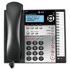 AT&T 1070 Corded Four-Line Expandable Telephone, Caller ID