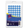 Avery Handwrite Only Removable Round Color-Coding Labels, 1/2