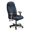 Mayline Comfort Series Executive High-Back Chair, Gray Fabric
