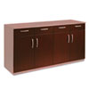 Wood Veneer Buffet Credenza Doors/Drawers, Sierra Cherry
