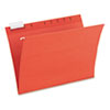 Envirotec Hanging File Folders, 1/5 Tab, Letter, Assorted Colors, 20/Box