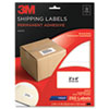 Permanent Adhesive White Inkjet Mailing Labels, 2 x 4, 250/Pack