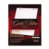 Gold Fibre Fastrip Catalog Envelope, Side Seam, 9 x 12, White, 100/Box