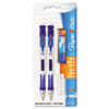 Clear Point Mechanical Pencil, 0.7 mm, Assorted, 2/Set