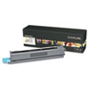 Lexmark C925H2KG High-Yield Toner, 7,500 Page-Yield, Black