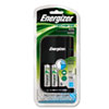 Energizer Charger, for 4 AA or AAA Nimh Batteries, 15-Minute Charge Cycle