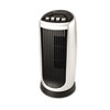 Personal Space Mini Tower Fan, Two Speed, Charcoal