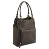 Ladies' Bucket Tote, Full-Grain Leather, 13-1/2 x 4-1/2 x 17-1/4, Espresso