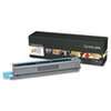 Lexmark C925H2CG High-Yield Toner, 7,500 Page-Yield, Cyan