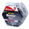 Antistatic Monitor Wipes--Office Share Pack, 5 x 6, 200 Individual Foil Packets
